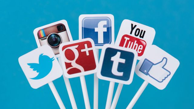 social media icon signs hd wallpapers
