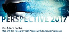 2  Dr  Adam Sachs   Use of VR in Research with People with Parkinson's disease